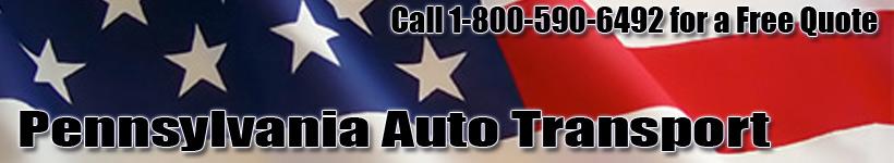 Pennsylvania Auto Transport Shipping Logo
